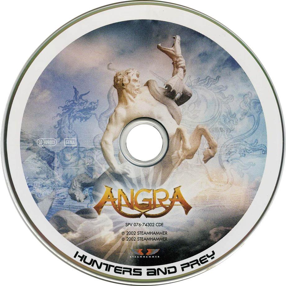 cd angra hunters and prey